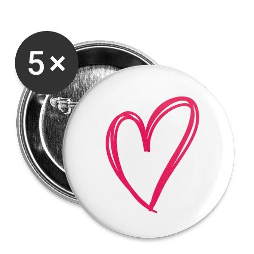 hartje03 - Lot de 5 petits badges (25 mm)