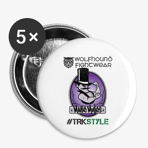 myles front 0518 - Buttons small 1''/25 mm (5-pack)