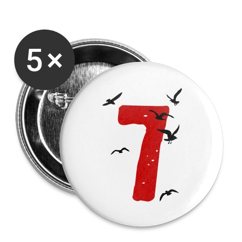 When the seagulls follow the trawler - Buttons small 1''/25 mm (5-pack)