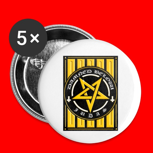 Damned - Buttons small 1''/25 mm (5-pack)