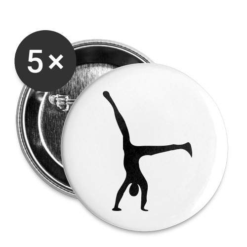 au - Buttons small 1''/25 mm (5-pack)