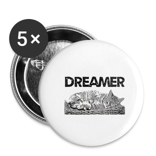 Dreamer - Confezione da 5 spille piccole (25 mm)