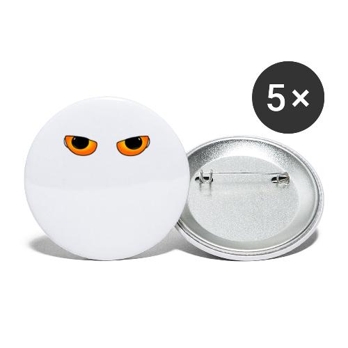 Cateyes - Buttons small 1''/25 mm (5-pack)