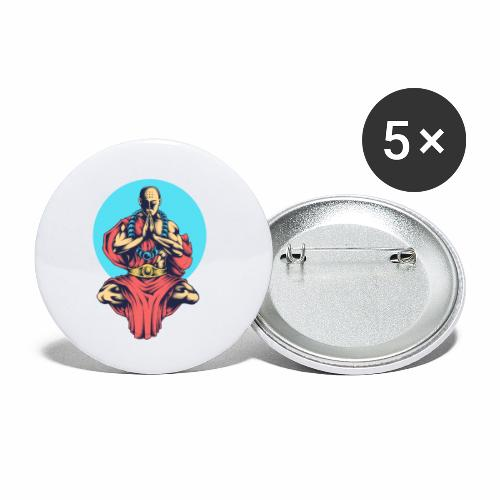 Inner Peace Inner Peace Gift Idea - Buttons small 1''/25 mm (5-pack)