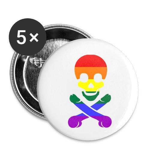 pimmelpirat - Buttons klein 25 mm