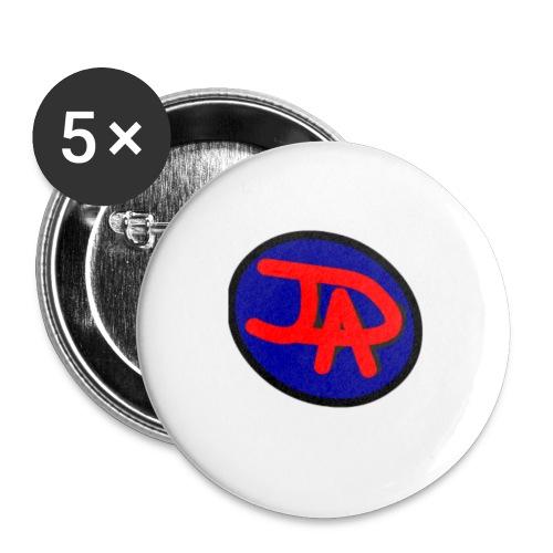 JDAD - Paquete de 5 chapas pequeñas (25 mm)