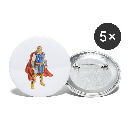 Thor Odinson - Lot de 5 petits badges (25 mm)