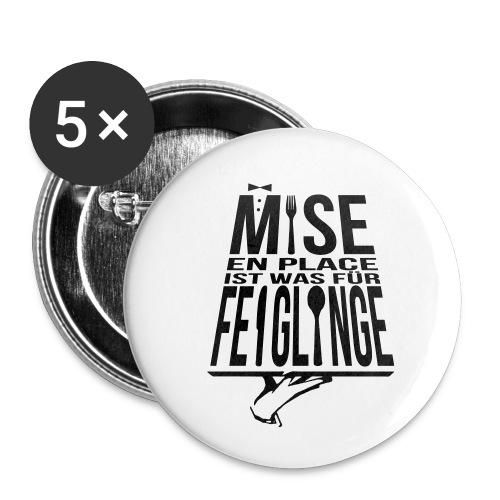 feig - Buttons klein 25 mm (5er Pack)