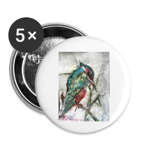 20160826 110916458 iOS kungsfiskaren - Små knappar 25 mm (5-pack)