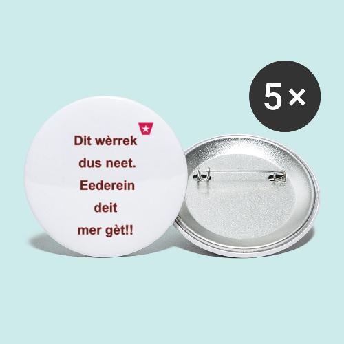 Dit we rrek dus neet eederein deit mer ge t Verti - Buttons klein 25 mm (5-pack)