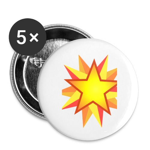 ck star merch - Buttons small 1''/25 mm (5-pack)