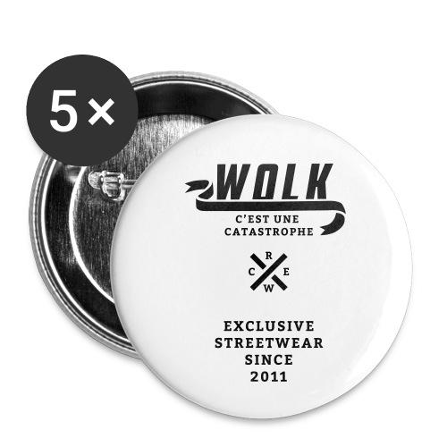 varsityx04 - Buttons klein 25 mm (5-pack)