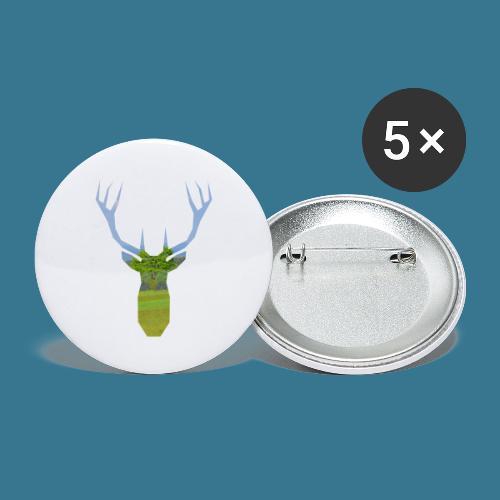 Von der Natur gemacht. - Buttons klein 25 mm (5er Pack)