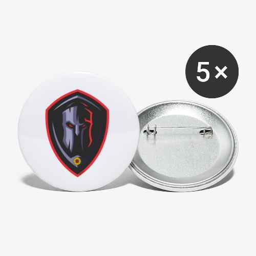 SOLRAC Spartan - Paquete de 5 chapas pequeñas (25 mm)