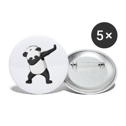 Panda Dap - Buttons klein 25 mm (5er Pack)