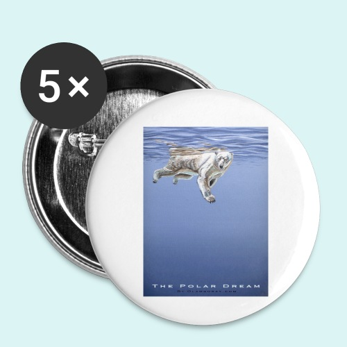 The Polar Dream - Buttons small 1''/25 mm (5-pack)