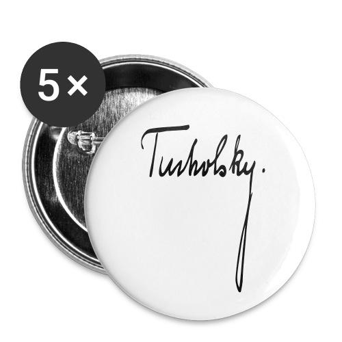 Kurt Tucholsky - Buttons klein 25 mm (5er Pack)