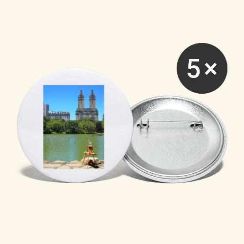 Dipinto americano - Confezione da 5 spille piccole (25 mm)
