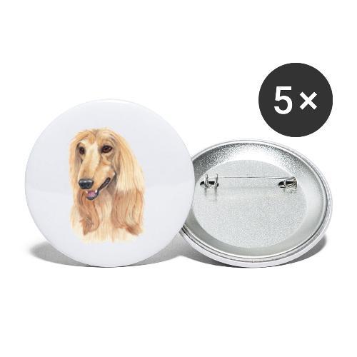 afghanskMynde- A - Buttons/Badges lille, 25 mm (5-pack)