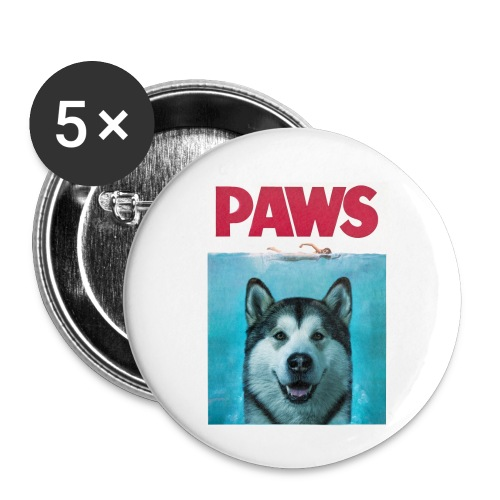 paws 2 - Buttons small 1''/25 mm (5-pack)