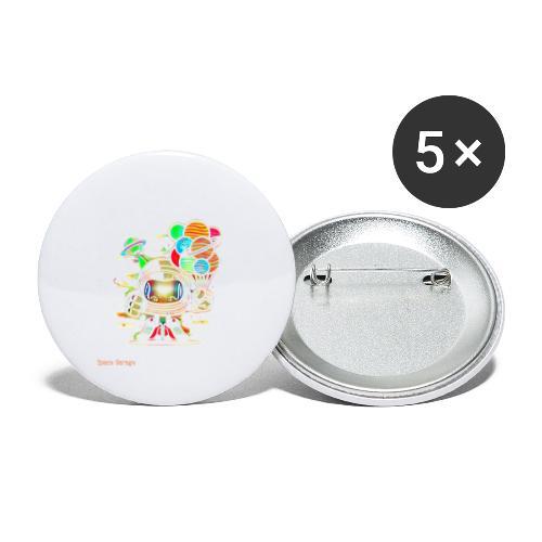 Spagrg00001 - Paquete de 5 chapas pequeñas (25 mm)
