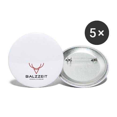 WUIDBUZZ | Balzzeit | Männersache - Buttons klein 25 mm (5er Pack)