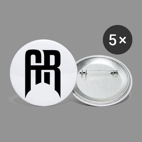 Aristic Symbol - Små knappar 25 mm (5-pack)