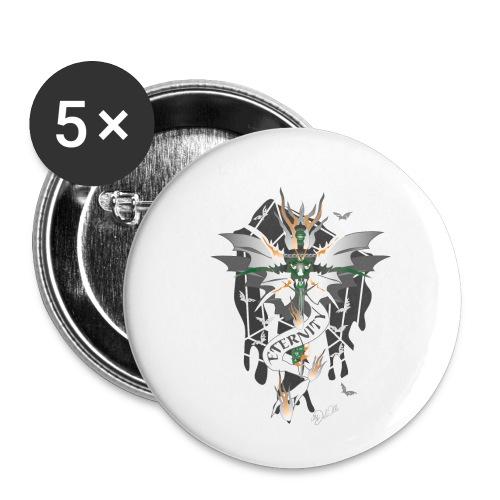 Dragon Sword - Eternity - Drachenschwert - Buttons klein 25 mm (5er Pack)