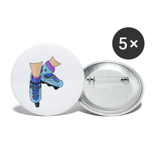 Rollerblade - Confezione da 5 spille piccole (25 mm)