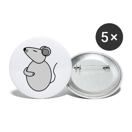 Rat - just Cool - c - Buttons klein 25 mm (5er Pack)