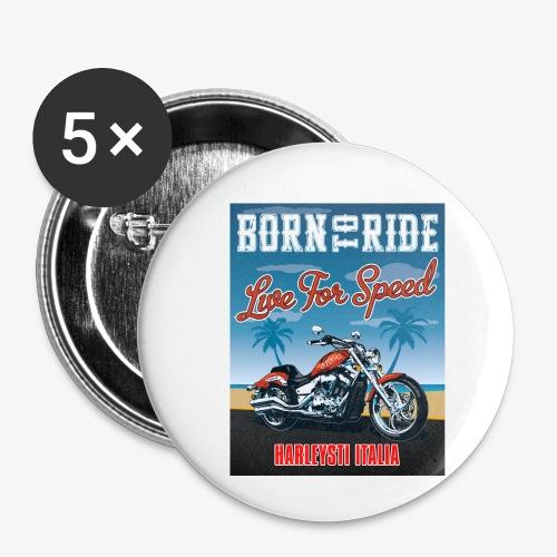 Summer 2021 - Born to ride - Confezione da 5 spille piccole (25 mm)