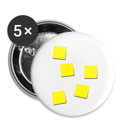 Post-Its - Buttons klein 25 mm (5-pack)