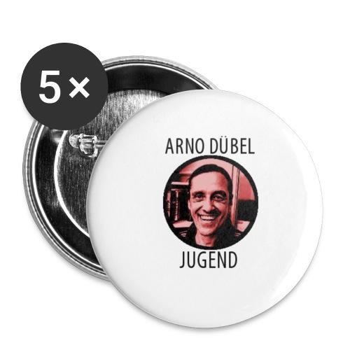 Arno Dübel Jugend - Buttons klein 25 mm (5er Pack)