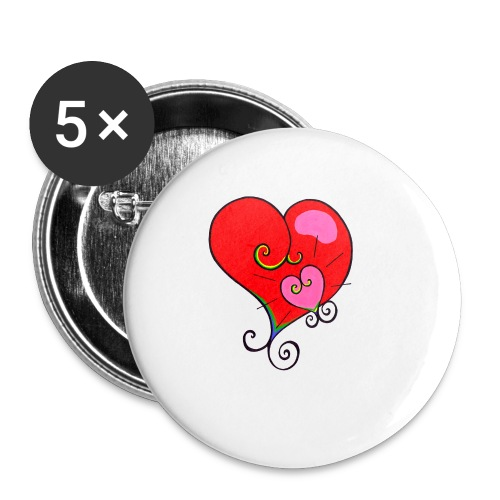 Magic Mother & Magic Child - Buttons small 1''/25 mm (5-pack)