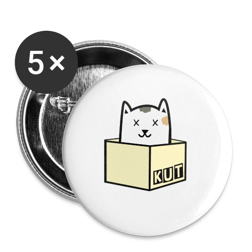 Kitten Los Default Colours - Buttons klein 25 mm (5-pack)