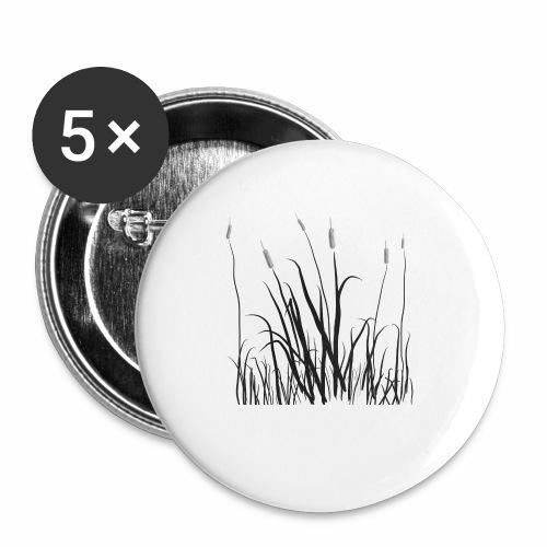 The grass is tall - Confezione da 5 spille piccole (25 mm)