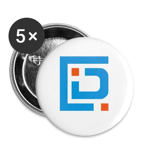 IDC Top100 - Paquete de 5 chapas pequeñas (25 mm)
