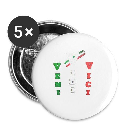 aresson - Confezione da 5 spille piccole (25 mm)