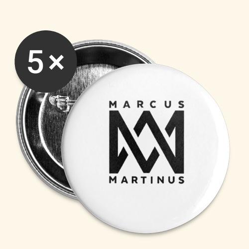 M m2244 - Små knappar 25 mm (5-pack)