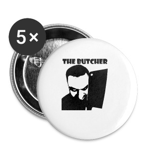 The Butcher - Buttons klein 25 mm