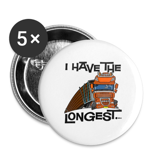 0793 D Truck longest loads VOOR - Buttons klein 25 mm (5-pack)