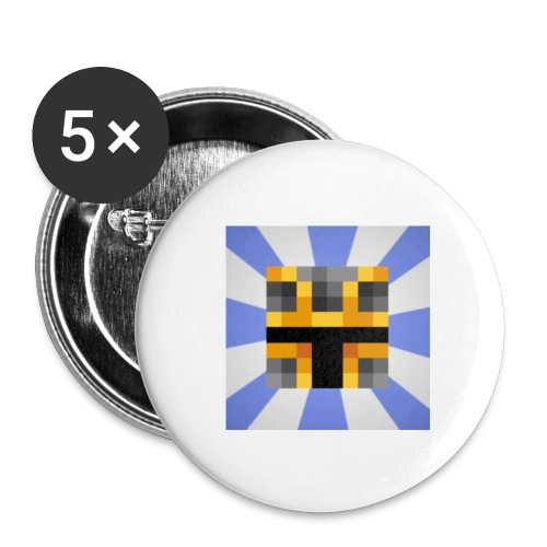 iCrazyKnight - Buttons small 1''/25 mm (5-pack)