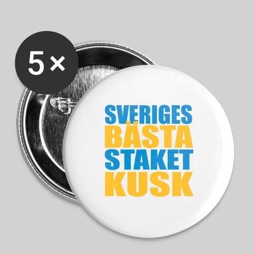 Sveriges bästa staketkusk! - Små knappar 25 mm