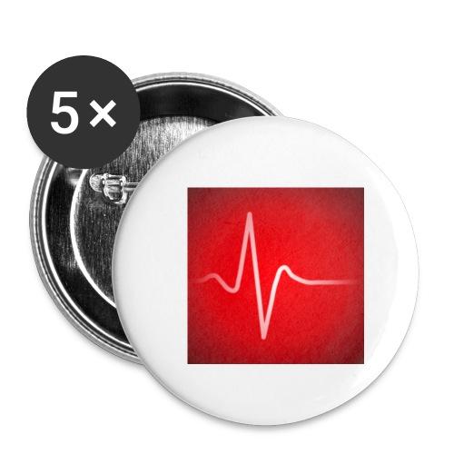 mednachhilfe - Buttons klein 25 mm (5er Pack)