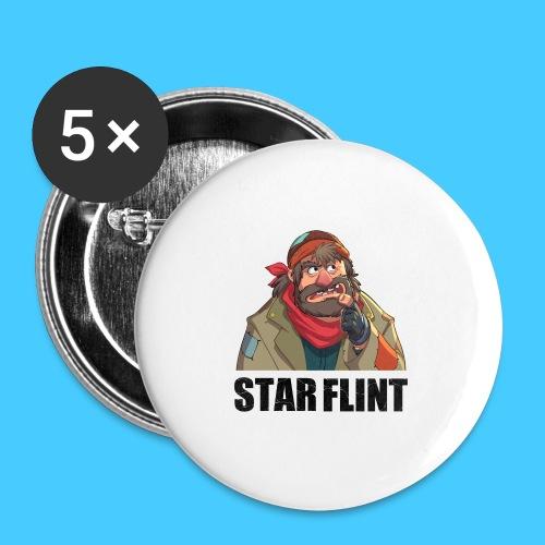 Roi des clochards - Badge petit 25 mm