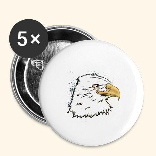 Aguila Emperador Kutuxa - Paquete de 5 chapas pequeñas (25 mm)