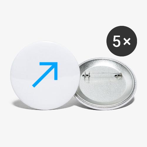 link - Buttons small 1''/25 mm (5-pack)