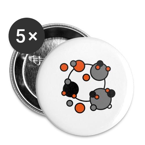 Cosmos Rmx - Paquete de 5 chapas pequeñas (25 mm)