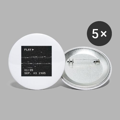 NX SURRXNDXR LOGO - Buttons klein 25 mm (5-pack)