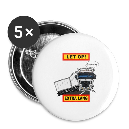 0850 extra lang - Buttons klein 25 mm (5-pack)